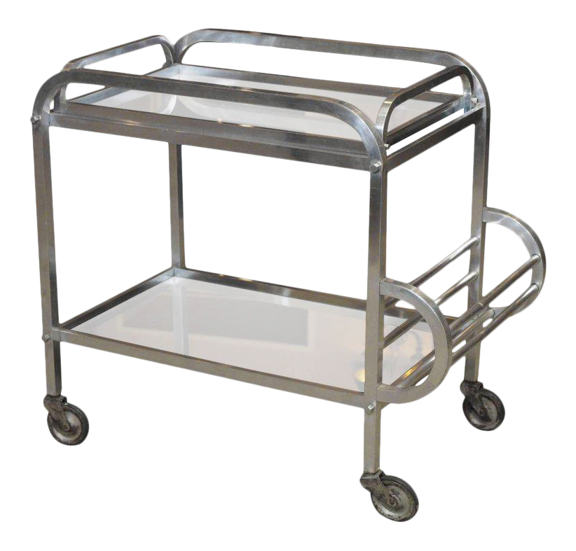 Vanity drawing kitchen trolley. Lovely french art deco