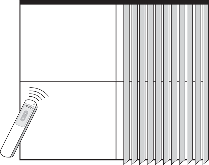 Drawing blind shades. Vertical blinds elizabeth shutters
