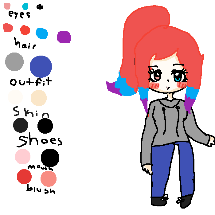 Drawing blush reference. Pixilart how i draw