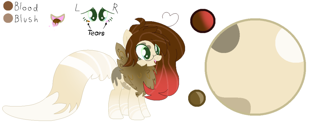 Drawing blush reference. Cream puff sheet by