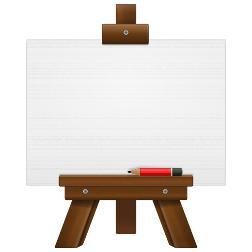 Board drawing storage. Collection of icons free