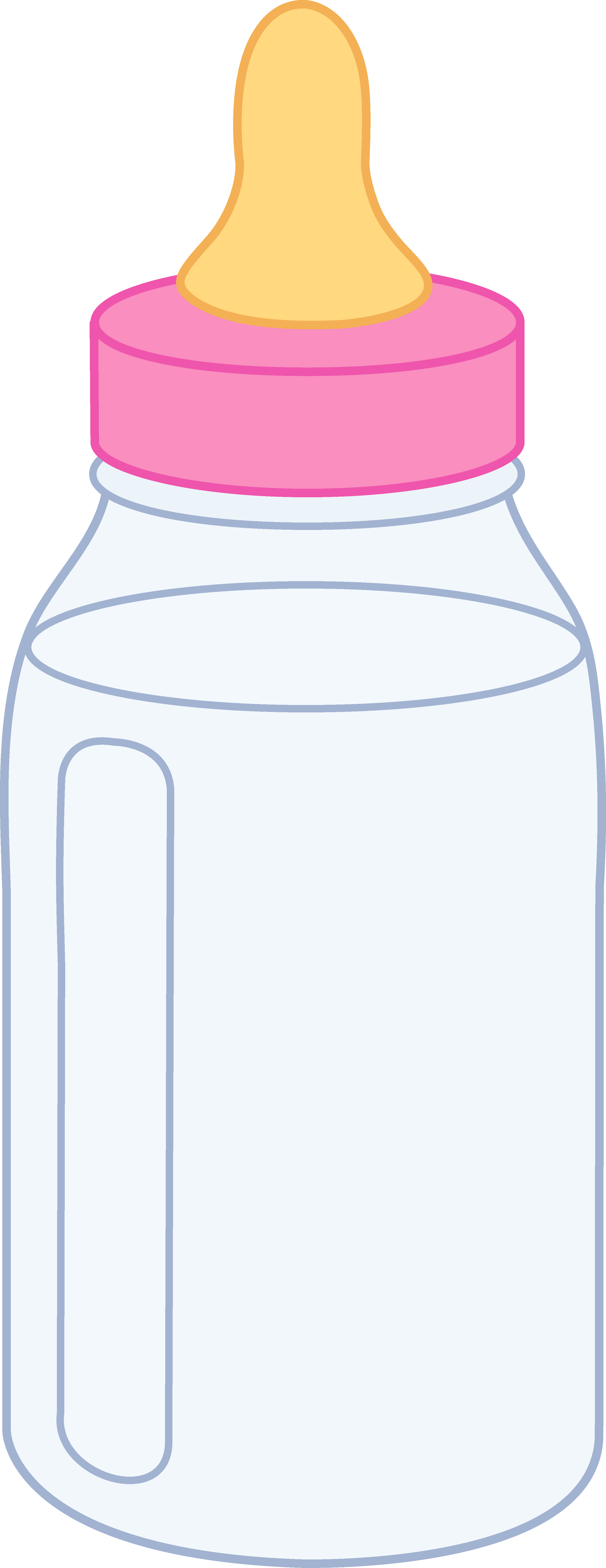 Drawing bottles baby bottle. How to draw a