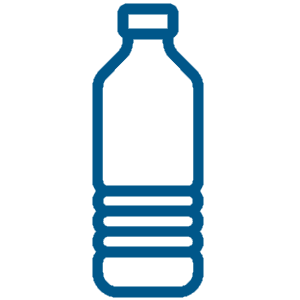 Drawing bottles plastic bottle. Pet containers zambelli packaging