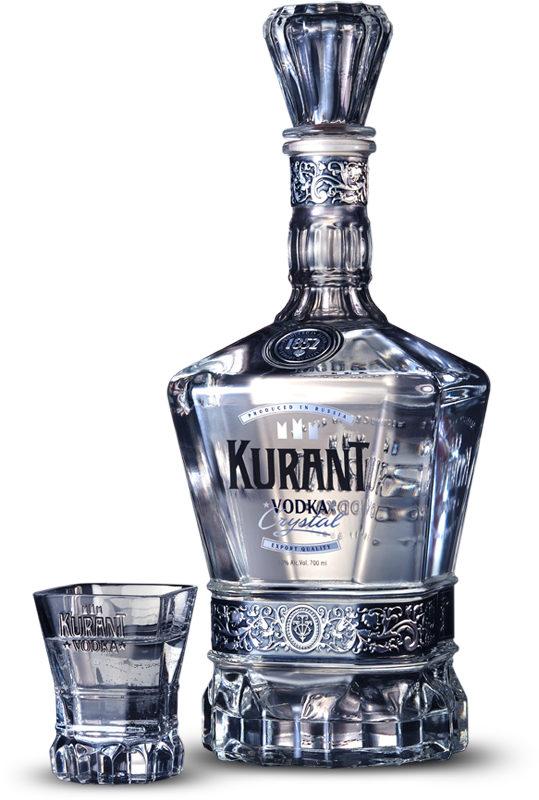 Drawing bottles vodka bottle. Kurrant dsg design creative