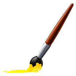 Drawing brush. Paint bursh icon myiconfinder