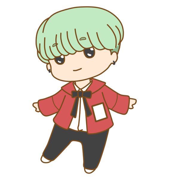 Drawing bts chibi. Suga swag pictures