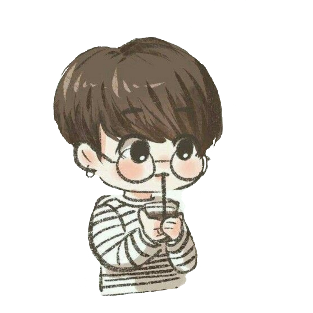 Drawing bts chibi. Jungkook cute sticker by