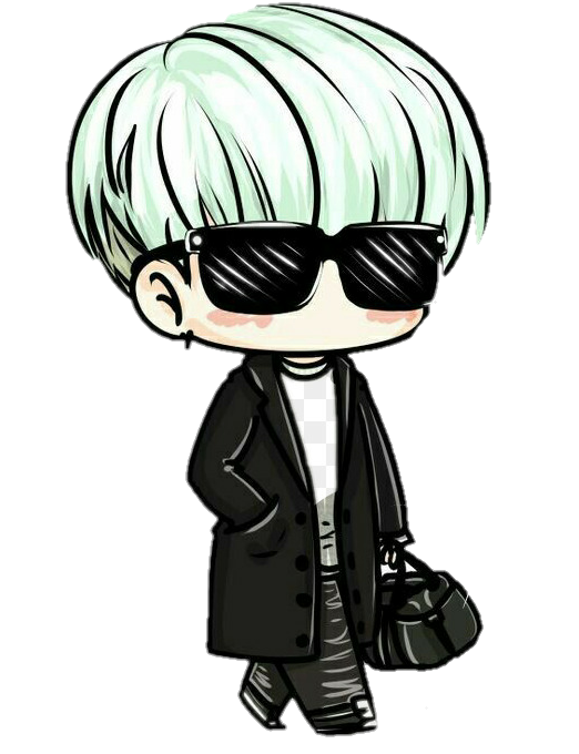 Drawing bts kawaii. Freetoedit yoongi suga chibi