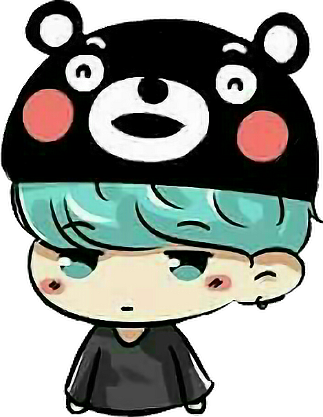 Drawing bts kawaii. Suga yoongi cute fofo