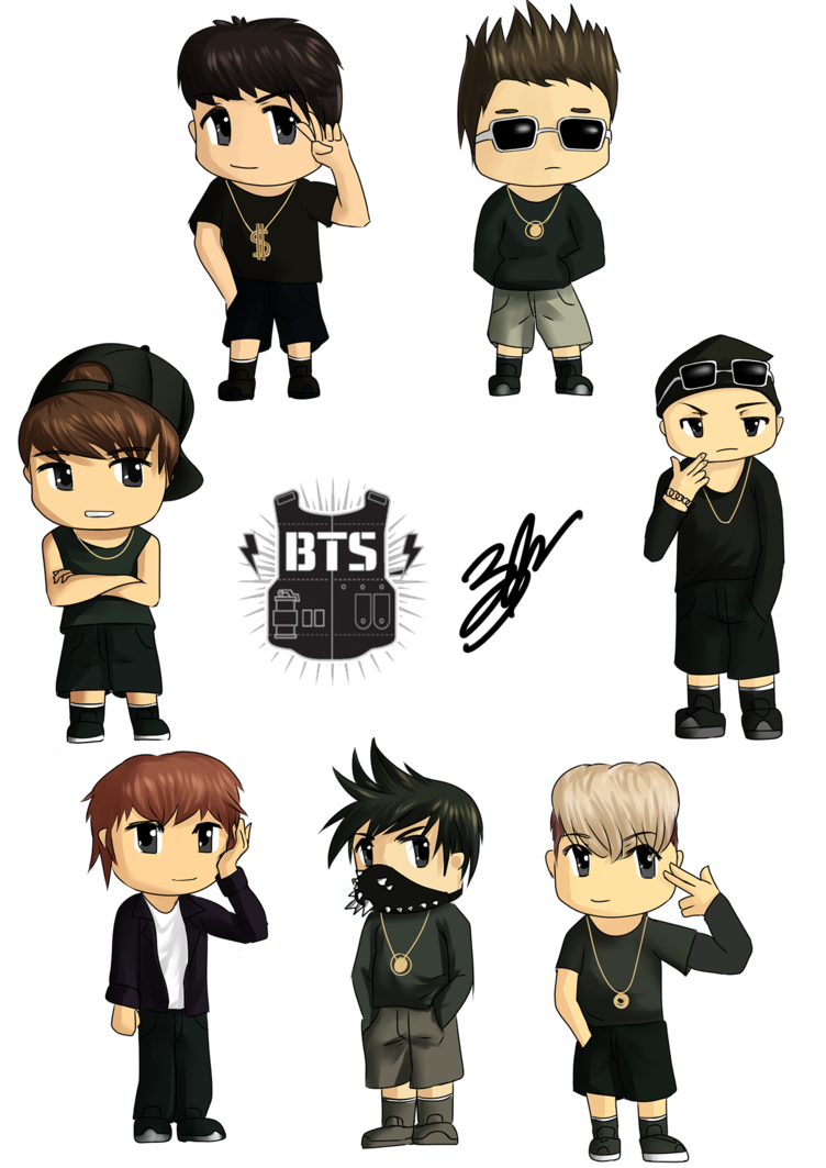 Drawing bts kpop. By eru sennin on