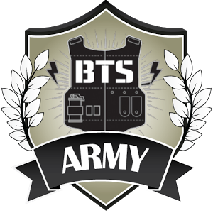and pinterest kpop. Army bts logo png image black and white download