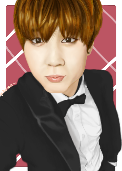 Drawing bts realistic. Park jimin by grbdisme
