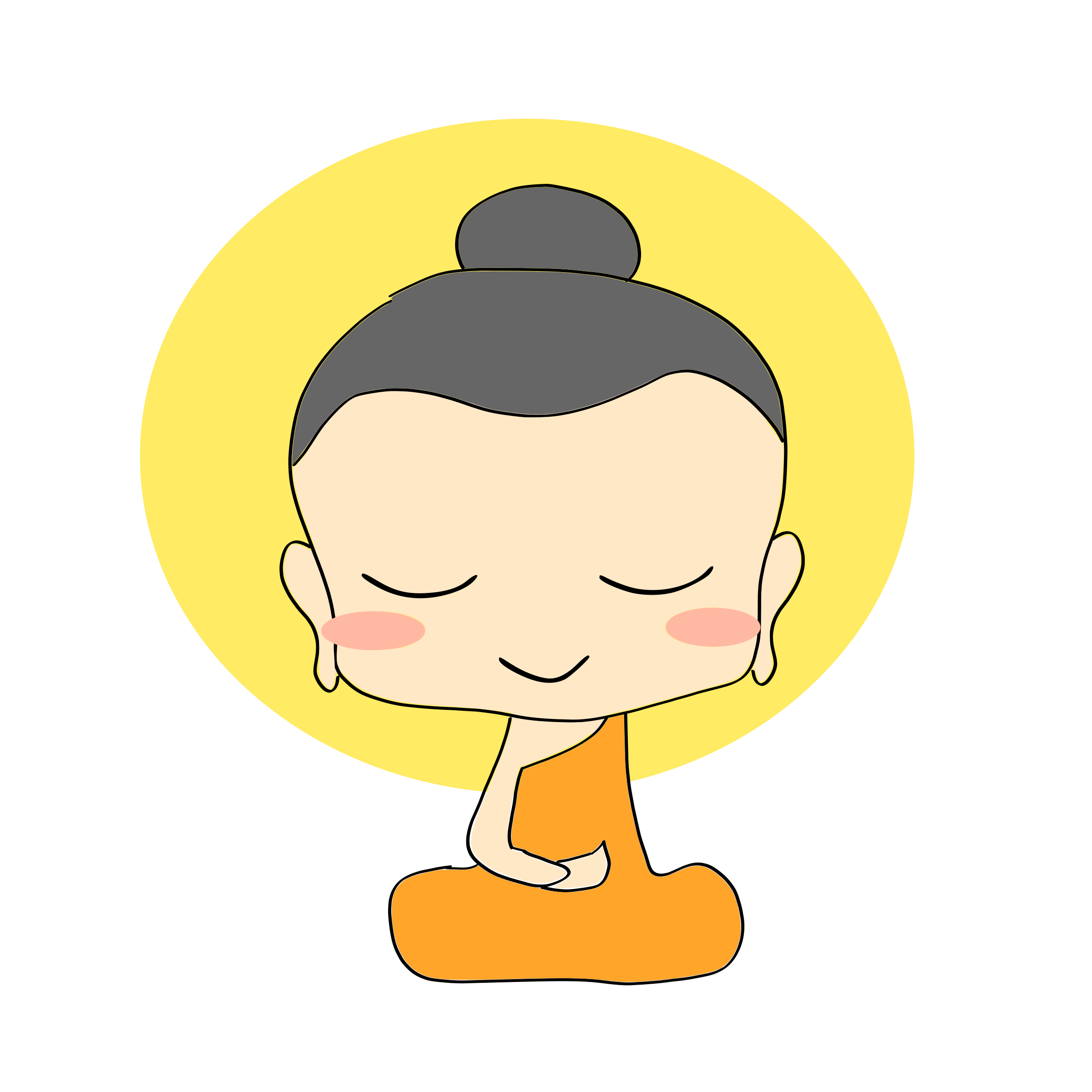 Buddhist drawing kid. Chibi buddha google search