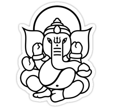 Pics for simple ganesha. Buddha clipart easy draw clip freeuse stock