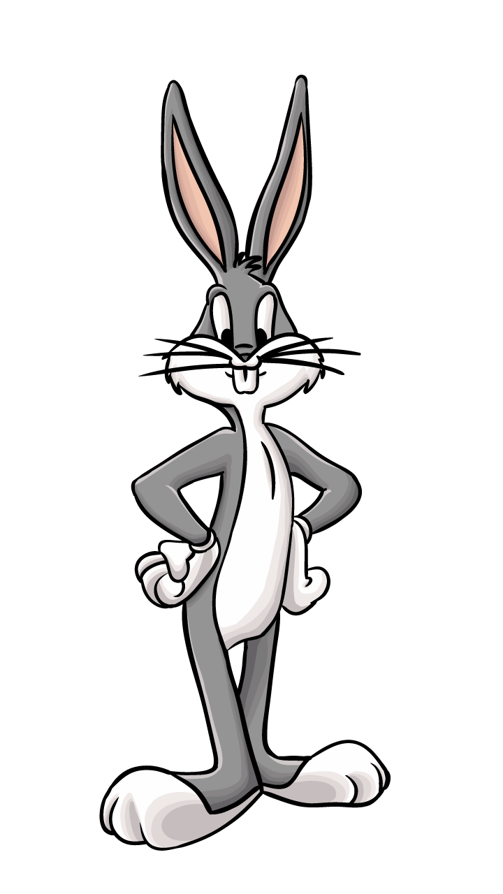 Drawing bugs bunny. The famous has finally