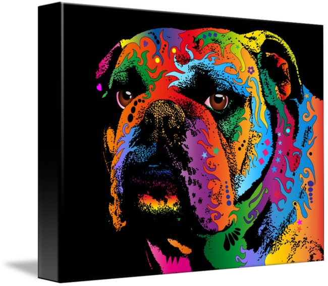By michael tompsett english. Drawing bulldogs american bulldog clipart transparent download