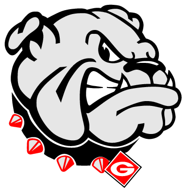 Clip art due to. Drawing bulldogs georgia clip library download