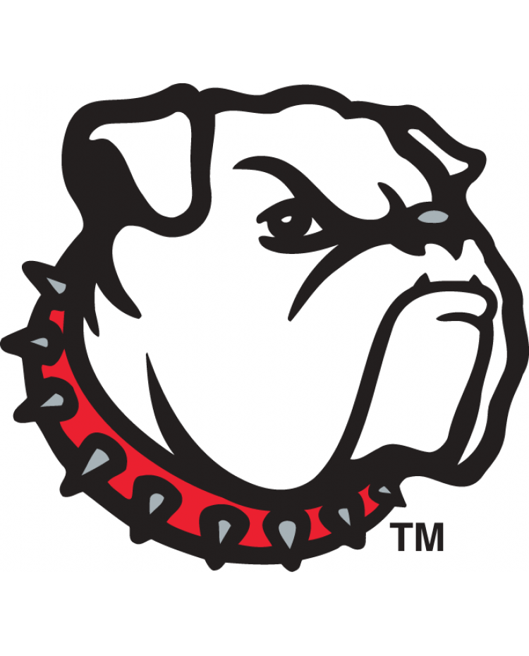 Iron on transfers for. Drawing bulldogs georgia vector free