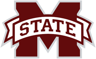 Drawing bulldogs printable. Mississippi state logo version