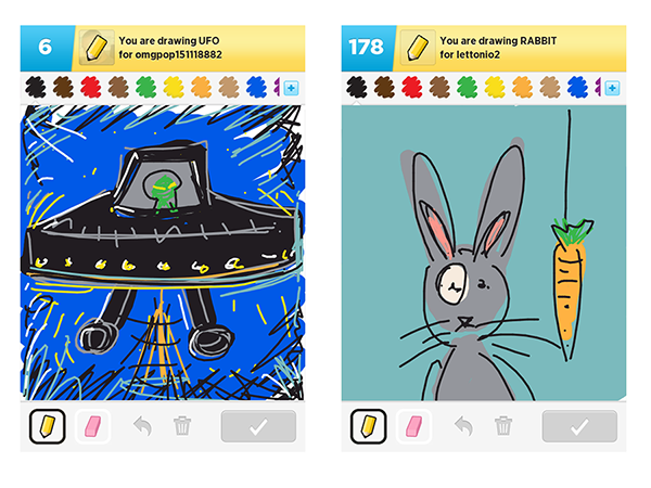 Drawing bunnies draw something. On wacom gallery the