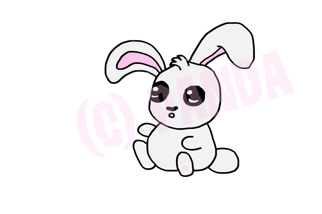 Drawing bunnies happiness. Animal jam graphic central