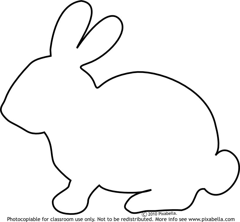 Drawing bunnies line. Collection of image