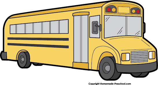 Drawing buses. Free school bus clipart