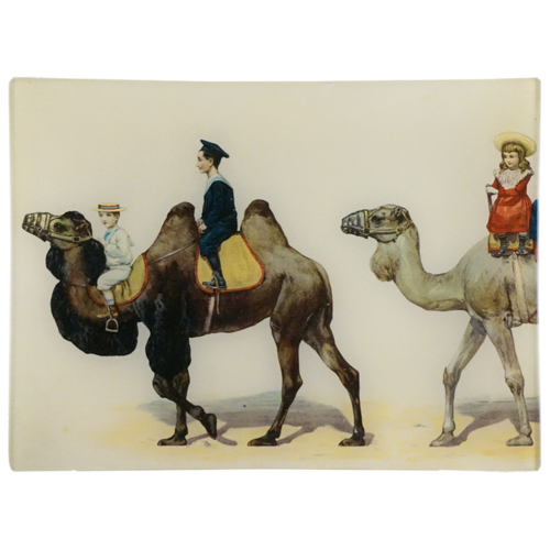 Drawing camels decorative. Caravan camel john derian