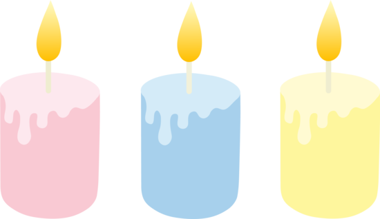 Transparent candles clipart. Candle huge freebie
