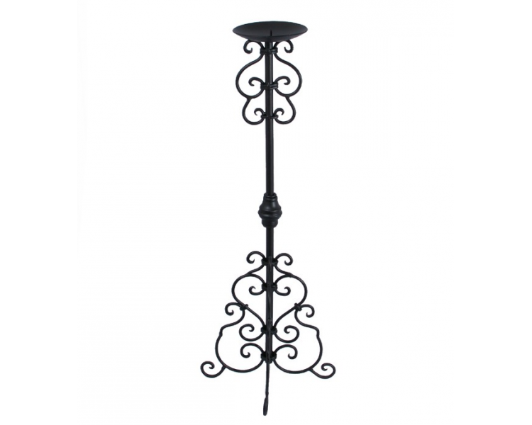 Drawing candle gothic. Syle stick large