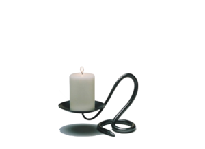 Drawing candle single. Holders capella home gift
