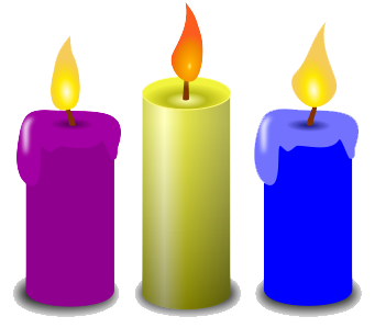 clip black and. Drawing candles candle light picture royalty free library