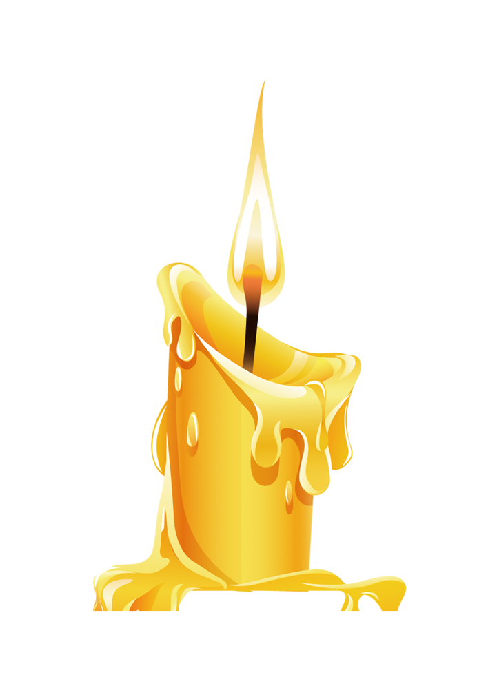 Drawing candles candle wax. Birthday cake clip art
