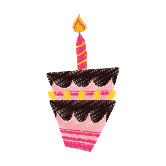 Birthday cake candle icons. Drawing candles diya image transparent library