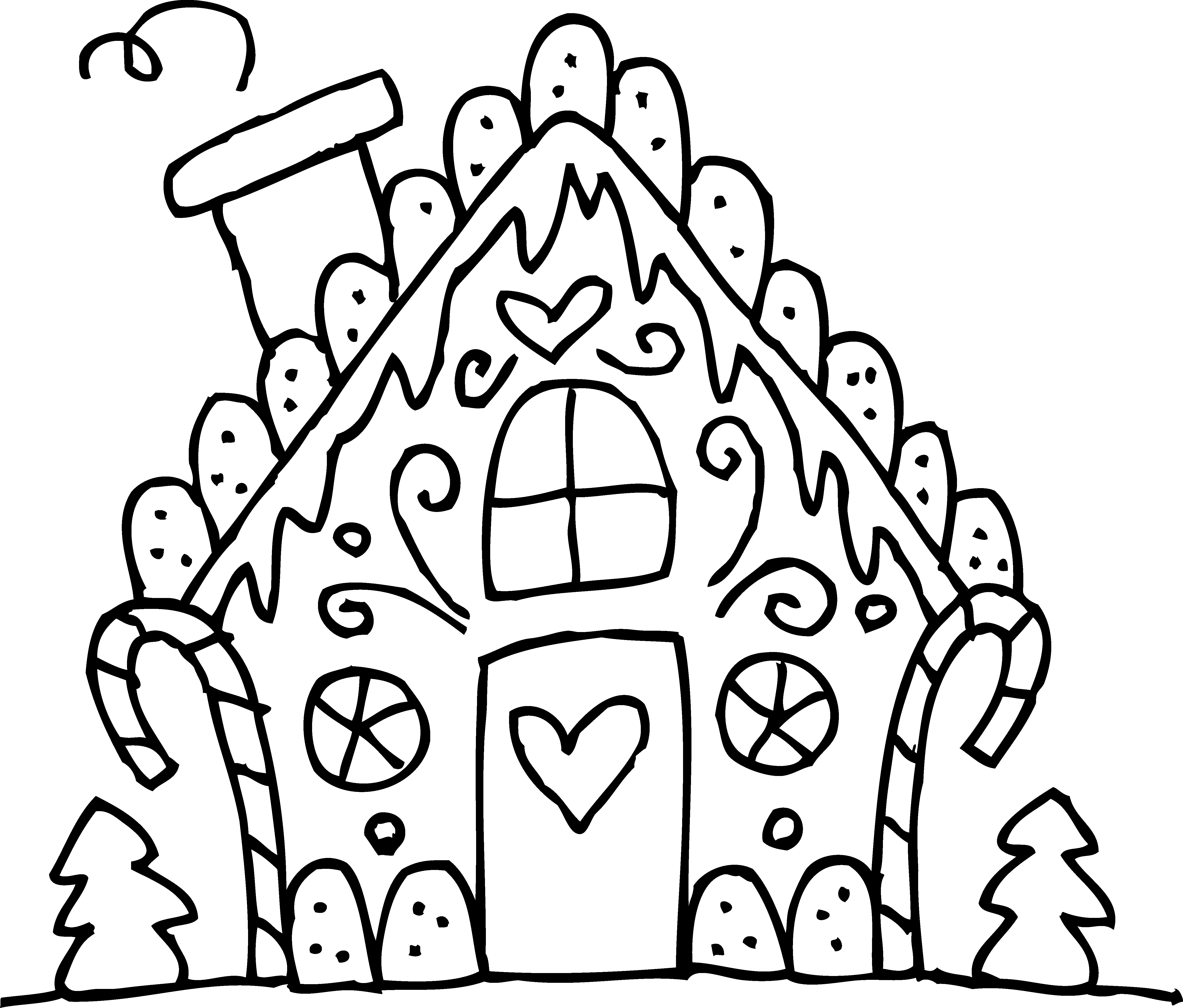 Drawing candy gingerbread house. Pin by penny duberstein
