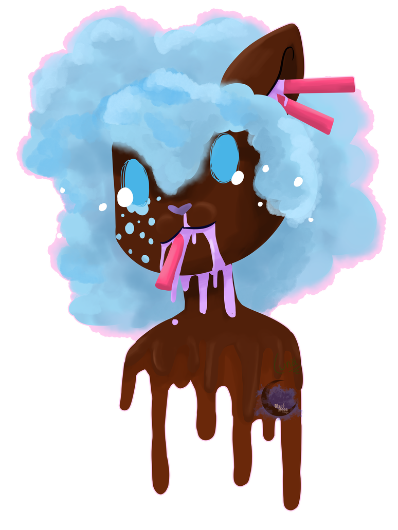 Drawing candy goretober. Gore by crazy luna