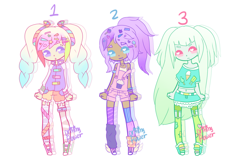 Pastels drawing planet. Candy pastel adopts closed