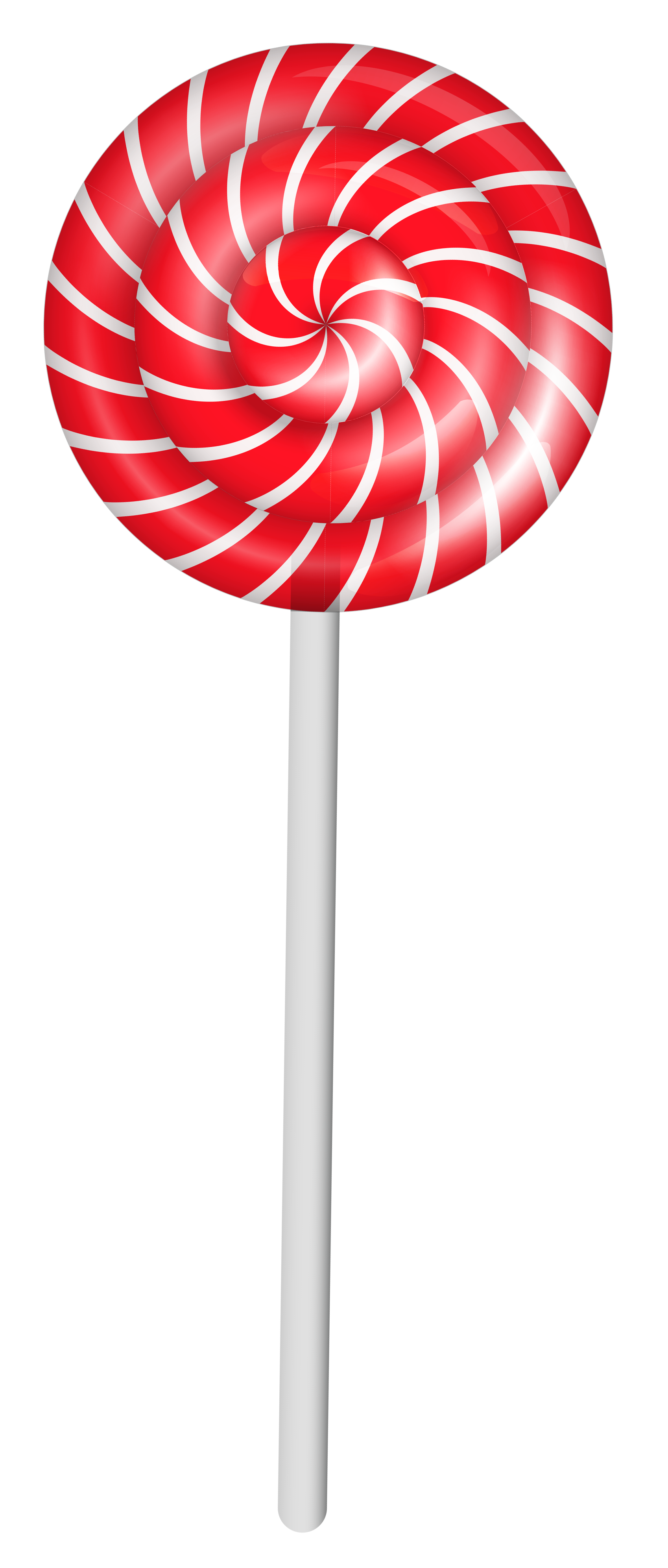 Transparent pin lollipop. By next on food