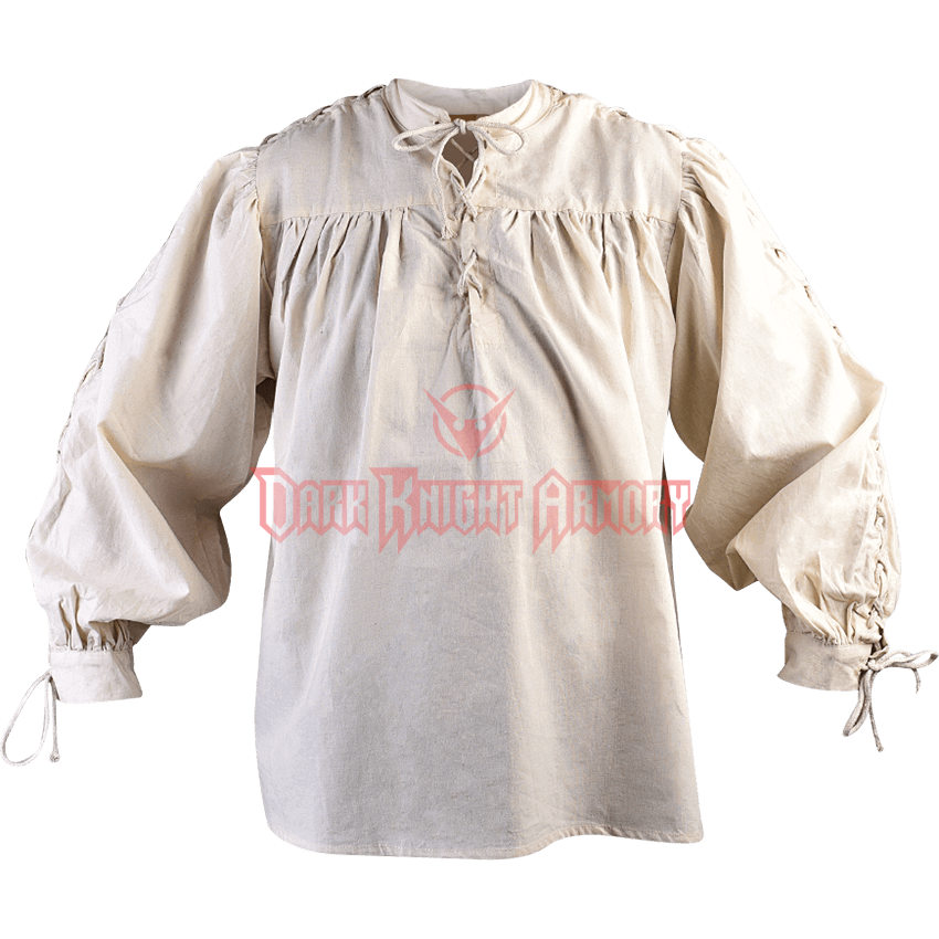 Drawing capes loose shirt. Renaissance shirts medieval and