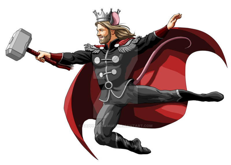 Drawing capes thor. Avengers nutcracker series by
