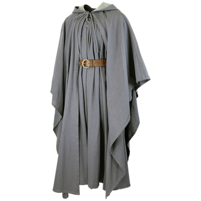 Robes drawing cloak. Mens ritual historic reenactment