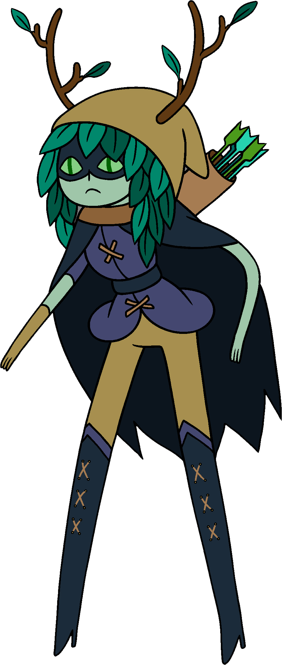 Drawing capes wizard. Huntress adventure time wiki
