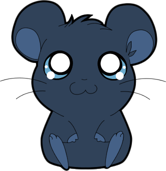 Drawing caracatures hamtaro. Midnight blue style by