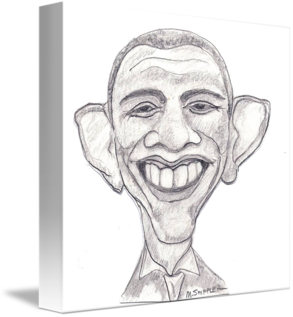 Drawing caracatures military. Barack obama caricature by