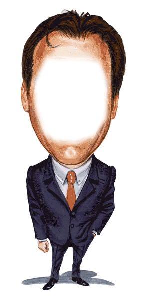 Gum drawing person. Sport caricature body templates