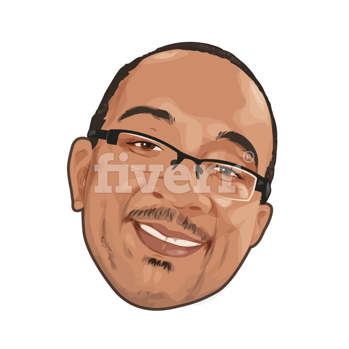 Drawing caracatures portrait. Make a caricature of