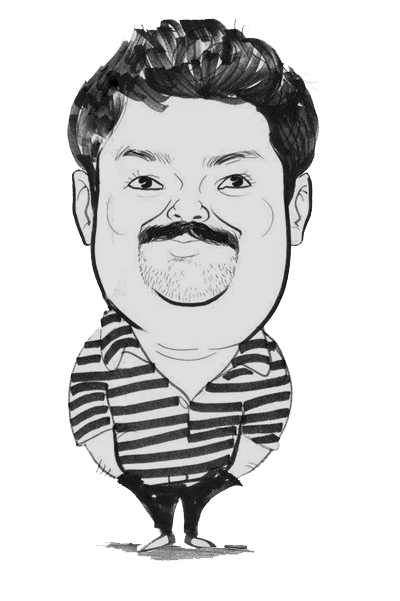Drawing characatures simple. Dinil your custom caricaturist