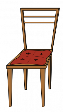 Drawing chairs. How to draw a