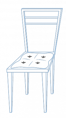 Drawing chairs easy. How to draw a