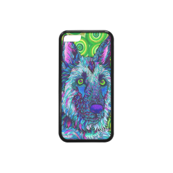 Drawing trippy psychedelic art. Wolf gifts artsadd rubber